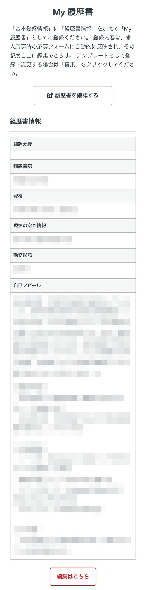 翻訳者ネットワーク「アメリア」My履歴書