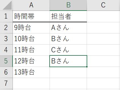 エクセル 入力済みの文字列の一覧から選択して繰り返し入力する方法 完了