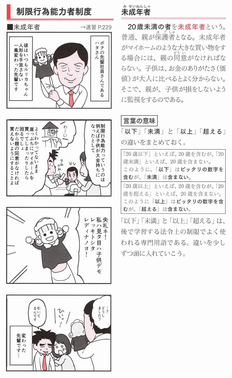 ユーキャン『宅建士まんが入門』ハタさん