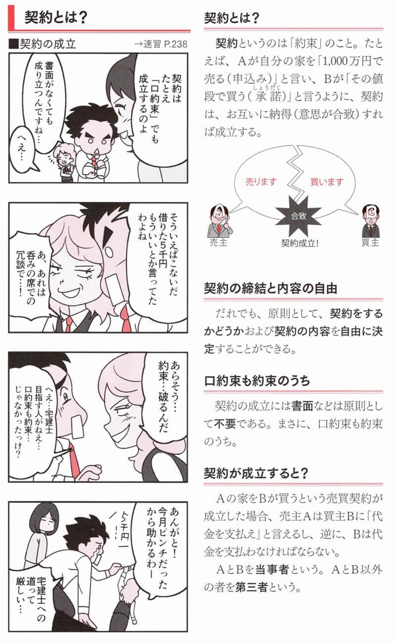 ユーキャン『宅建士まんが入門』リナ