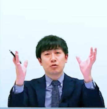 資格スクエアで講義中の田中先生